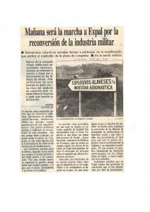 Marcha a EXPAL 1996