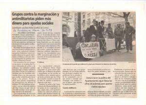 Pobreza Gasto Militar 1998